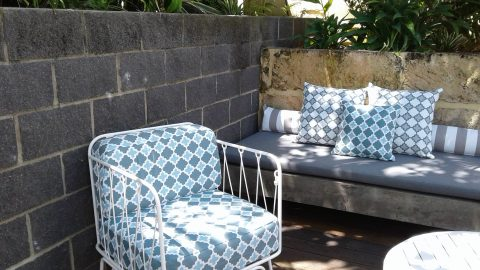 what to clean outdoor cushions with