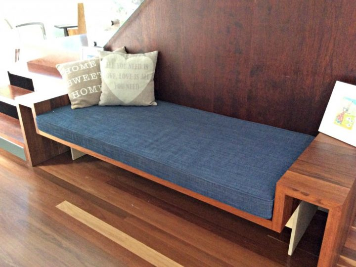 What is the best fabric for a window seat cushion?
