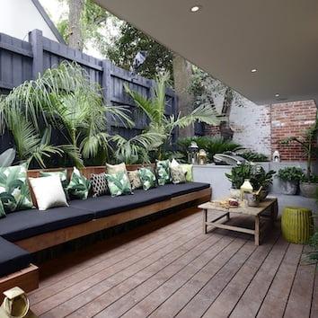 outdoor bench cushion australia