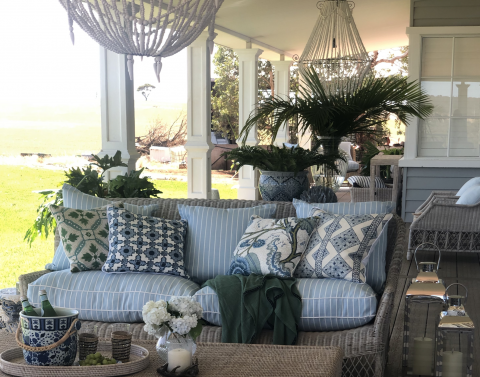 hamptons cushions