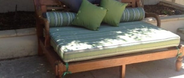 outdoor daybed cushions