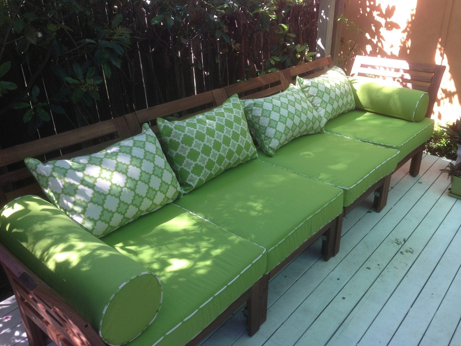 outdoor cushions Brisbane