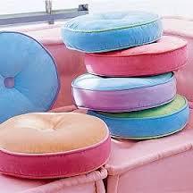 indoor round cushions