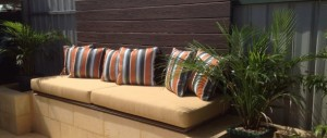 outdoor daybed cushion