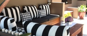 custom made bench cushions