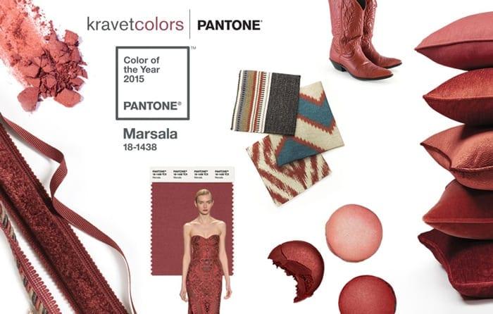 Marsala Pantone Cushion
