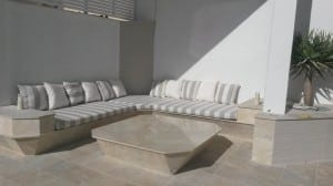 outdoor lounge cushions