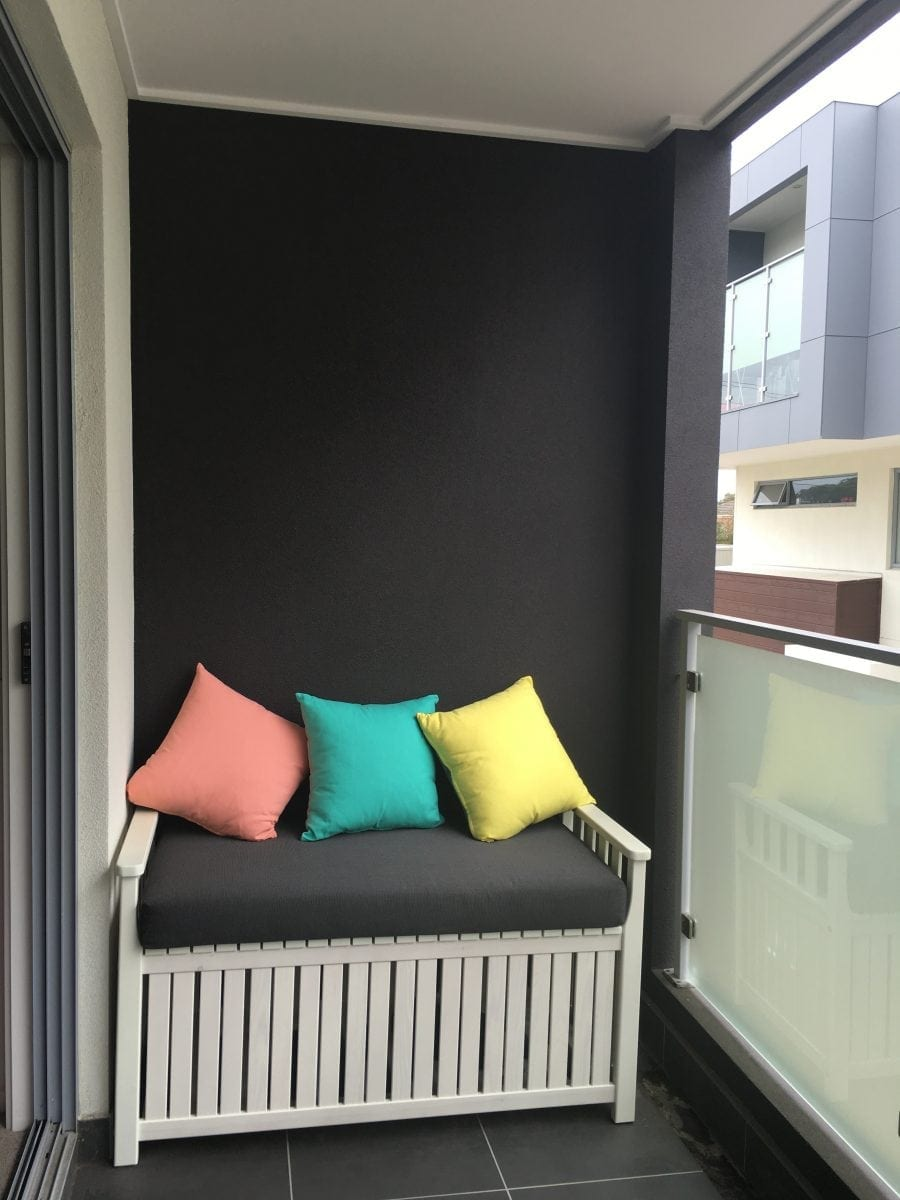 outdoor bench cushions Brisbane