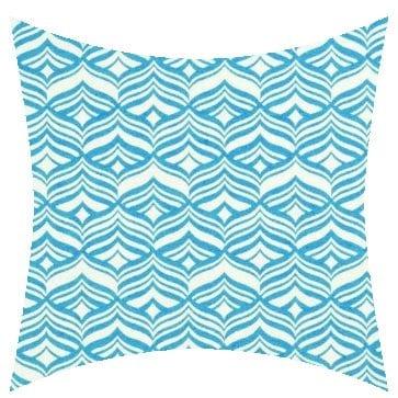 warwick avoca turquoise outdoor cushion