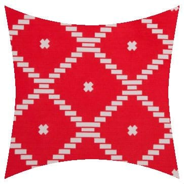 Charles Parsons Atoll Passion Flower Outdoor Cushion