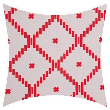 Charles Parsons Atoll Passion Flower Reversed Outdoor Cushion