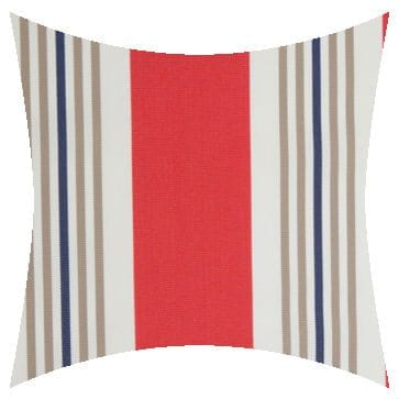 Charles Parsons Cove Passion Flower Outdoor Cushion