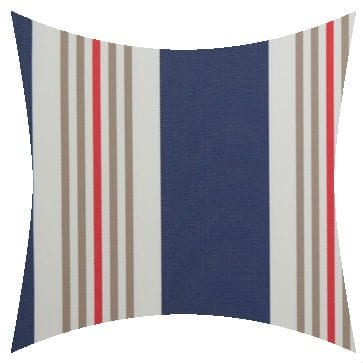 Charles Parsons Cove Squid Ink Outdoor Cushion