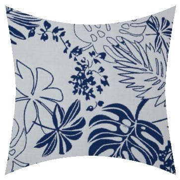 Charles Parsons Lagoon Squid Ink Outdoor Cushion