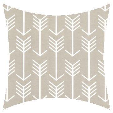 Premier Prints Outdoor Arrow Beechwood Outdoor Cushion