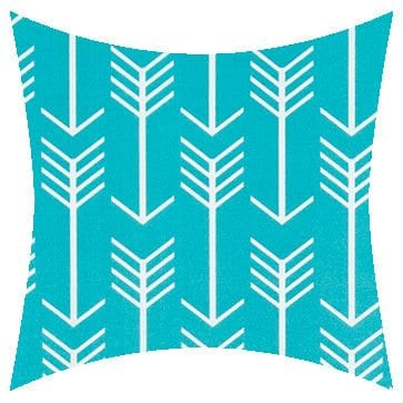 Premier Prints Outdoor Arrow Ocean Outdoor Cushion
