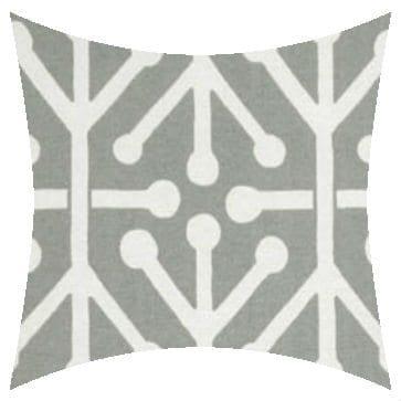 Premier Prints Outdoor Aruba Gray Outdoor Cushion