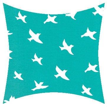 Premier Prints Outdoor Bird Silhouette Ocean Outdoor Cushion