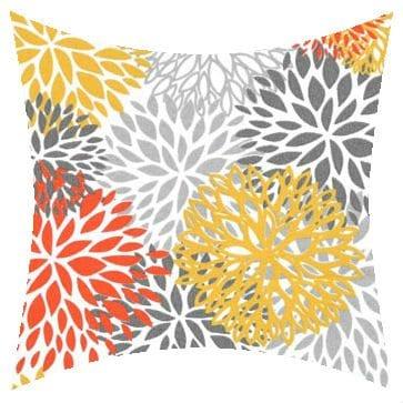 Premier Prints Outdoor Blooms Citrus Outdoor Cushion