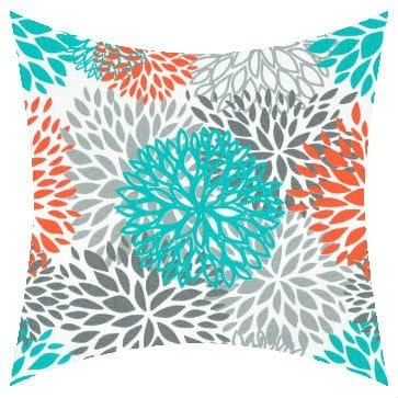 Premier Prints Outdoor Blooms Pacific Outdoor Cushion