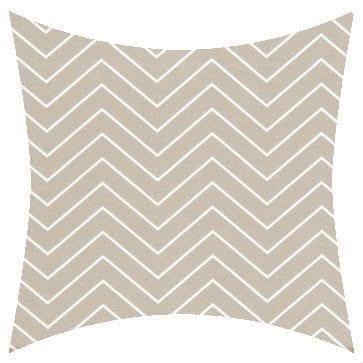 Premier Prints Outdoor Chevron Beech Wood Outdoor Cushion