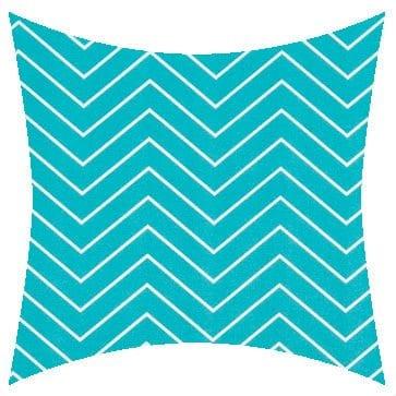 Premier Prints Outdoor Chevron Ocean Outdoor Cushion