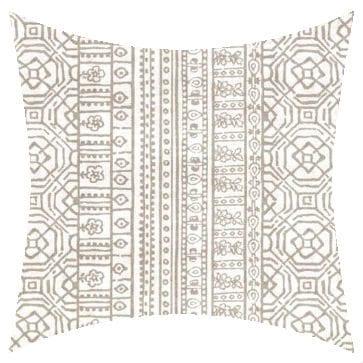 remier Prints Outdoor Devada Beechwood Outdoor Cushion