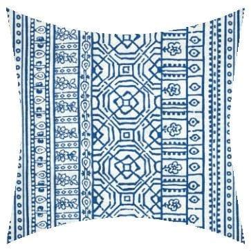 Premier Prints Outdoor Devada Cobalt Outdoor Cushion