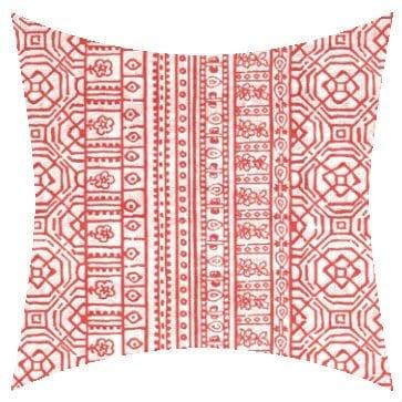 Premier Prints Outdoor Devada Indian Coral Outdoor Cushion