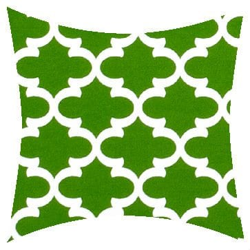Premier Prints Outdoor Fulton Bay Green Outdoor Cushion