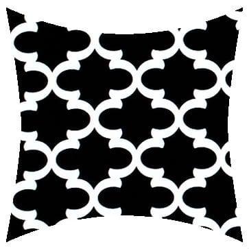 Premier Prints Outdoor Fulton Black Outdoor Cushion