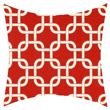 Premier Prints Outdoor Gotcha American Red Outdoor Cushion
