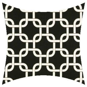 Premier Prints Outdoor Gotcha Ebony Outdoor Cushion
