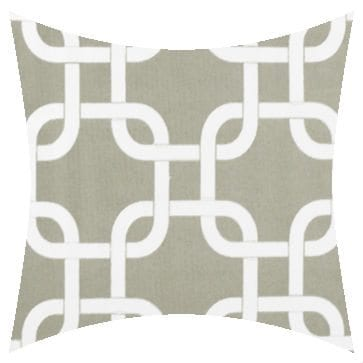 Premier Prints Outdoor Gotcha Gray Outdoor Cushion