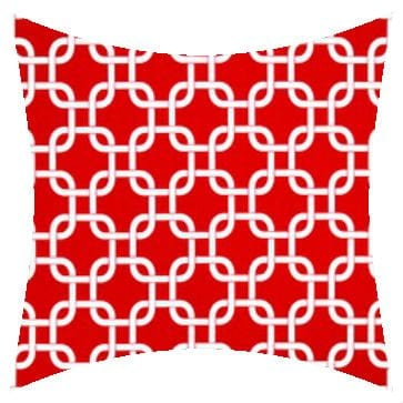 Premier Prints Outdoor Gotcha Rojo Outdoor Cushion