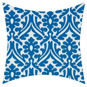 Premier Prints Outdoor Holly Cobalt Outdoor Cushion