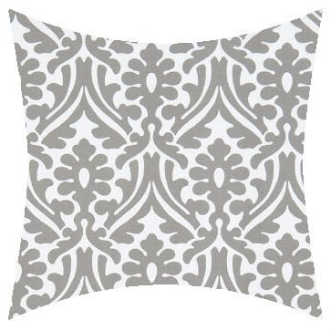 Premier Prints Outdoor Holly Gray Outdoor Cushion