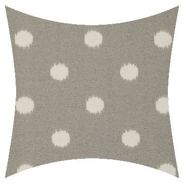 Premier Prints Outdoor Ikat Dots Gray Outdoor Cushion