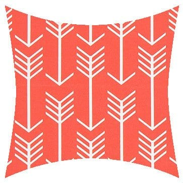 Premier Prints Outdoor Indiancoral Outdoor Cushion