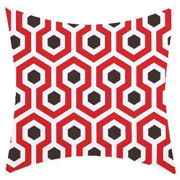 Premier Prints Outdoor Magna Rojo Outdoor Cushion