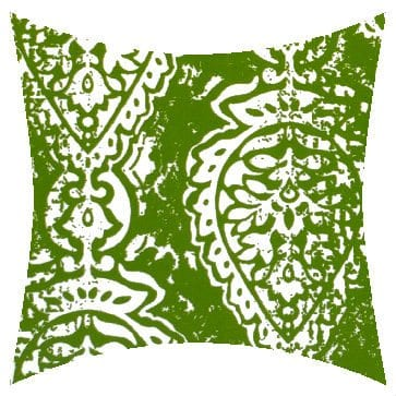 Premier Prints Outdoor Manchester Baygreen Outdoor Cushion