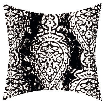 Premier Prints Outdoor Manchester Black Outdoor Cushion