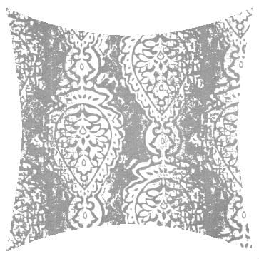 Premier Prints Outdoor Manchester Gray Outdoor Cushion