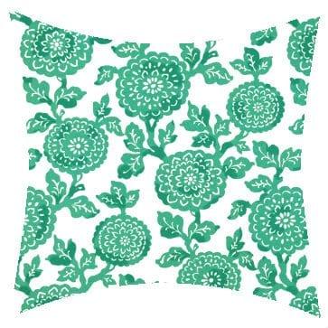 Premier Prints Outdoor Mums Ocean Outdoor Cushion