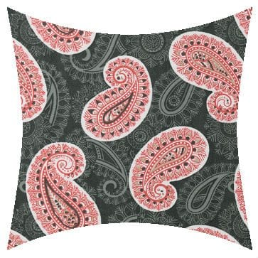 Premier Prints Outdoor Peru Indian Coral Outdoor Cushion