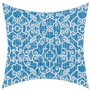 Premier Prints Outdoor Ramey Cobalt Outdoor Cushion