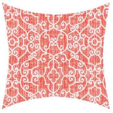 Premier Prints Outdoor Ramey Indian Coral Outdoor Cushion