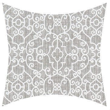 Premier Prints Outdoor Ramey Light Gray Outdoor Cushion