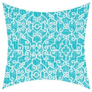 Premier Prints Outdoor Ramey Ocean Outdoor Cushion