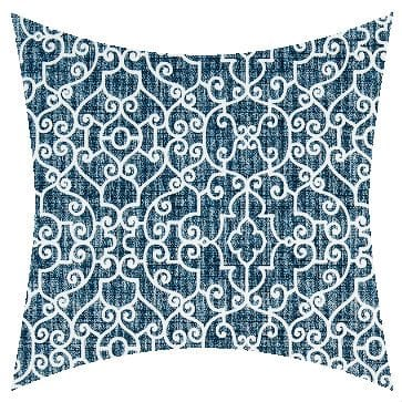 Premier Prints Outdoor Ramey Oxford Outdoor Cushion